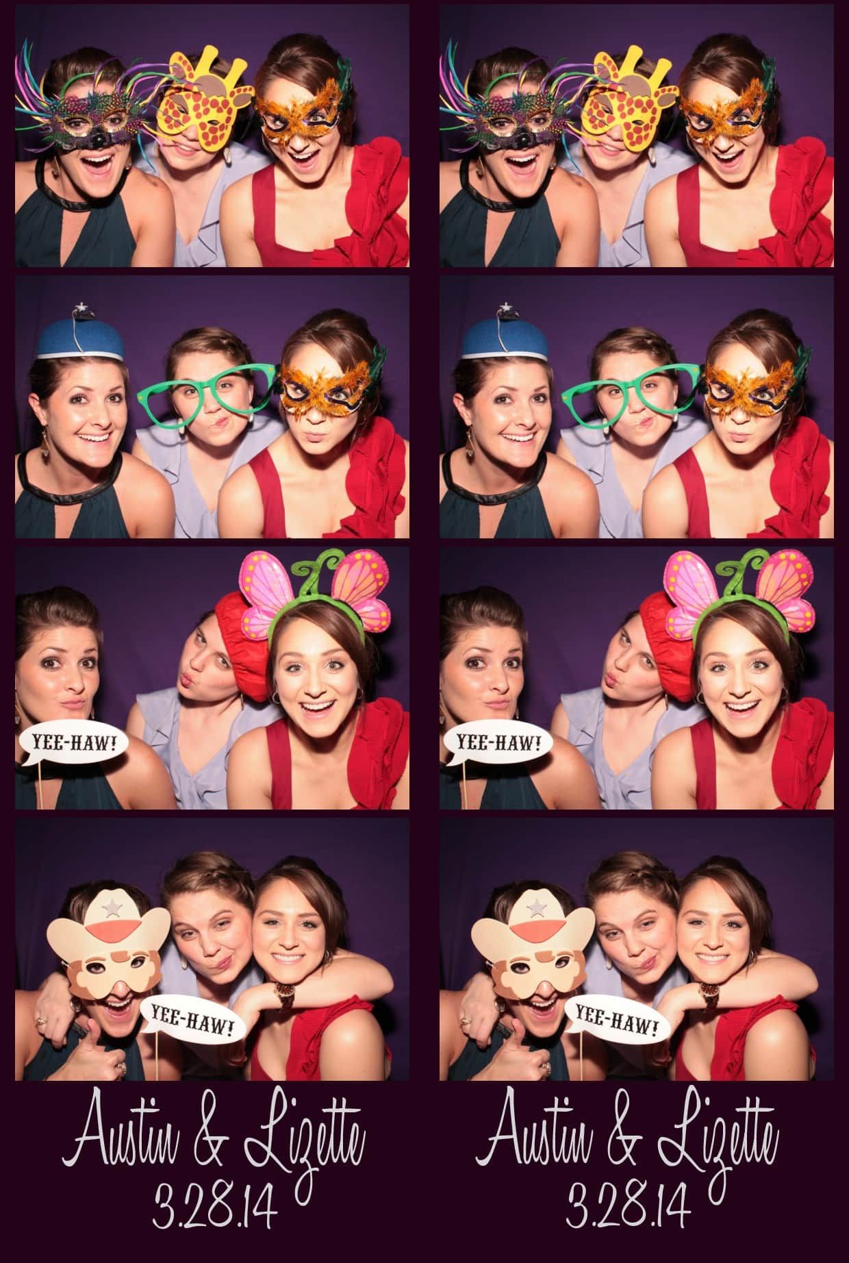 Photobooth Rental Wedding Kyle Texas Live Oak Photo Booth