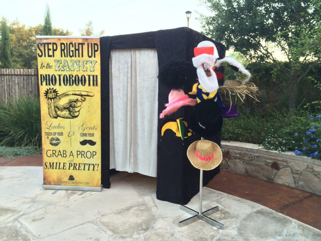 Closed Photo Booth Rental Austin Texas